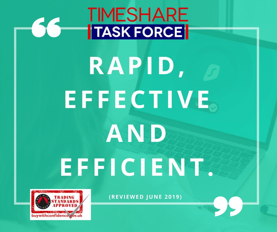 Rapid, effective and efficient