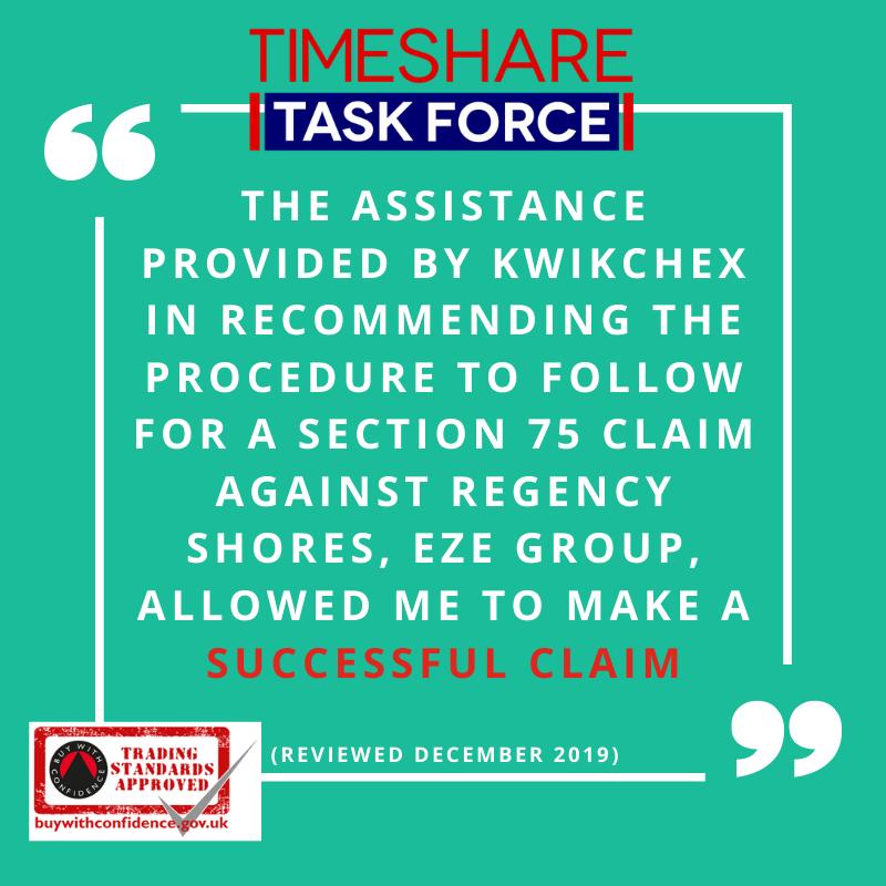 Die von KwikChex geleistete Unterstützung bei der Empfehlung des Verfahrens für einen Abschnitt 75