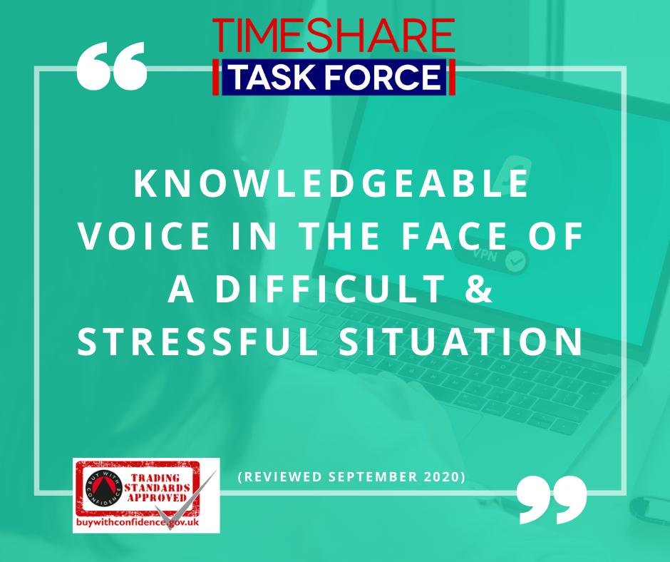 Kundige Stimme in einer schwierigen und stressigen Situation