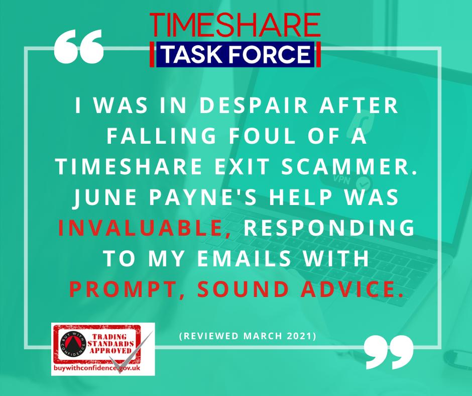 Die Hilfe von June Payne war unschätzbar